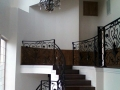 Lake Arrowhead Staircase Iron Work 1