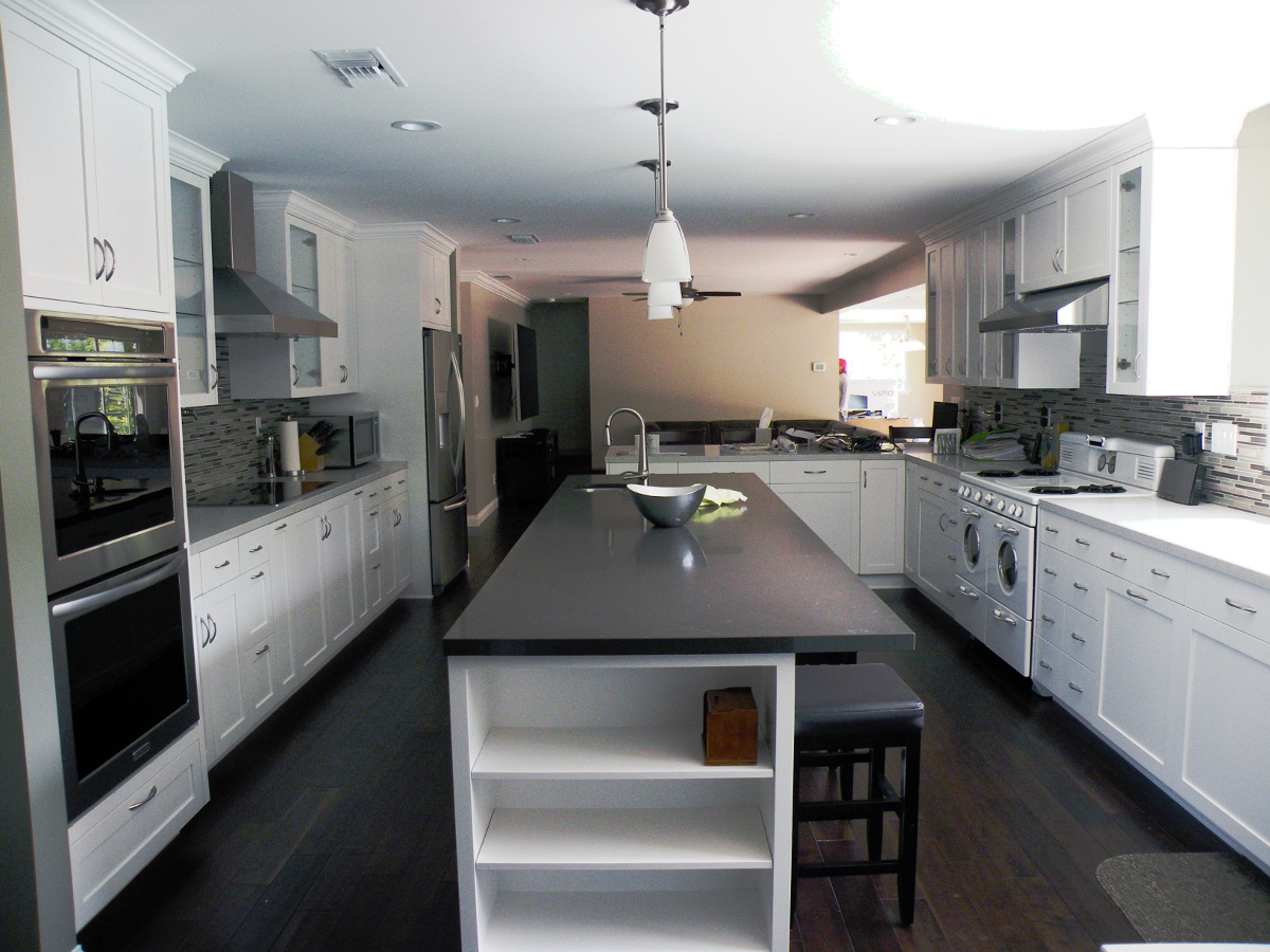 Kitchens bathrooms ability contractors for Custom kitchen remodel