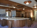 Custom Wood Kitchen Remodel View 1