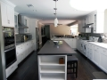 Remodel Custom Kitchen Side View Encino Home Remodel