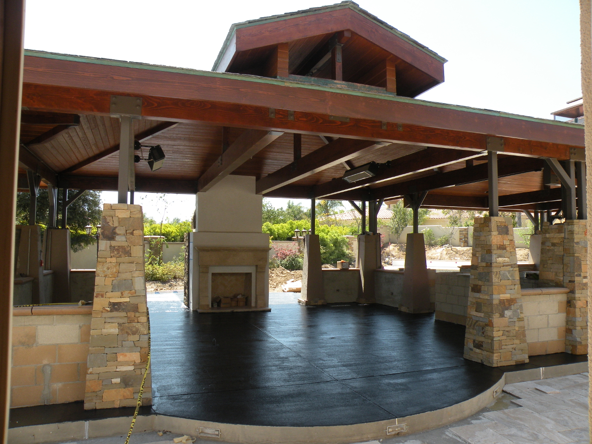Outdoor Kitchen Pavilion Designs