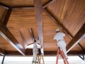 Pavilion Custom Wood Ceiling