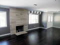 Fireplace & Wood Flooring Home Remodel